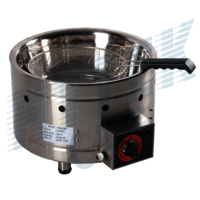 Gas Fryer With Round Basket