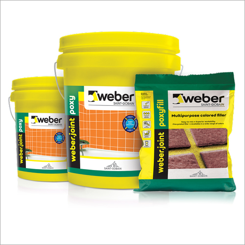 Weber Epoxy Multipurpose Colored Tiles Joint Filler