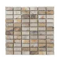 Small Vertical Brick Mosaic Tiles