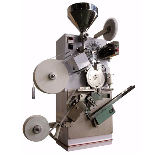 High Speed Single Chamber Tea Bag With Paper Crumbling Machine