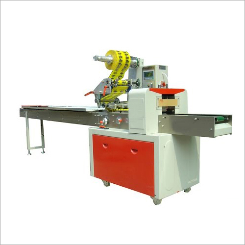 Horizontal Flow Wrap Machine For Chocolates Cream And Wafers