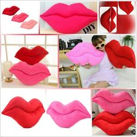 Lip Shaped Cushions