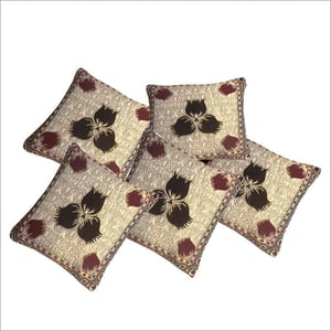 Embroidered Jacquard Cushions