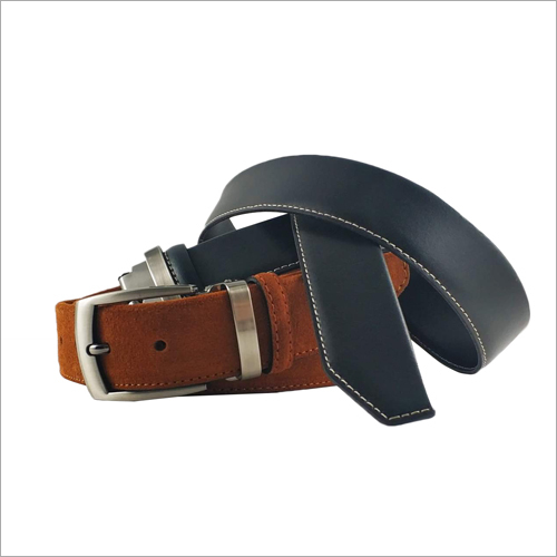 Mens Plain Formal Leather Belt