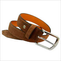 Nice Light Suede Belt