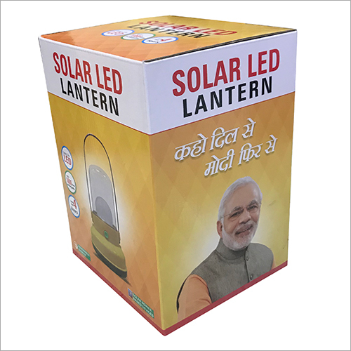 Solar Lantern Corrugated Packaging Box