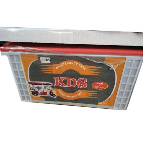 170Ah Electric Rickshaw Battery