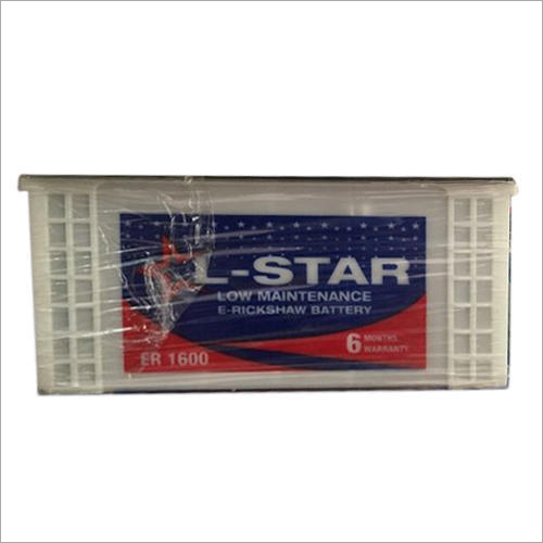 L- Star E-Rickshaw Battery