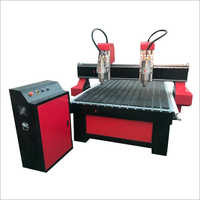 Dual Head Wood CNC Router Machine