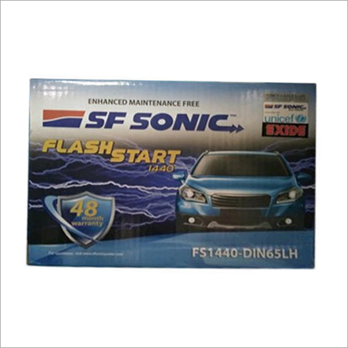 SF Sonic Car Batteries