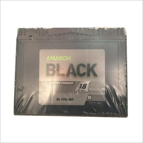 Amaron Black Car Battery