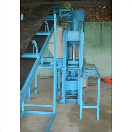 Semi Automatic Interlocking Tile Making Machine
