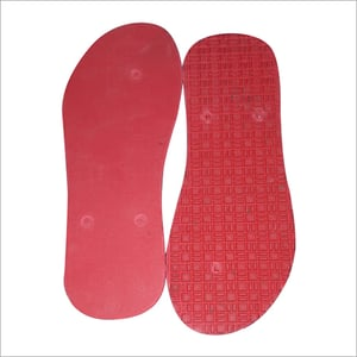 Gents Slippers Rubber Sole Sheet