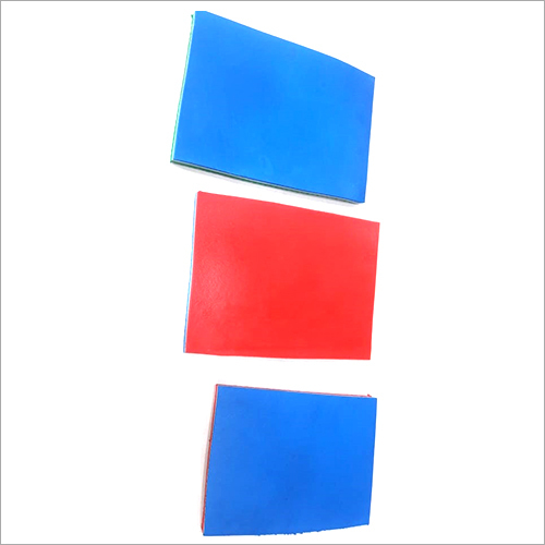 Slipper Color Rubber Sheet