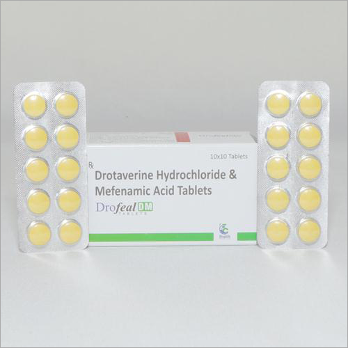 Drotaverine Hydrocloride And Mefanamic Acid Tablets