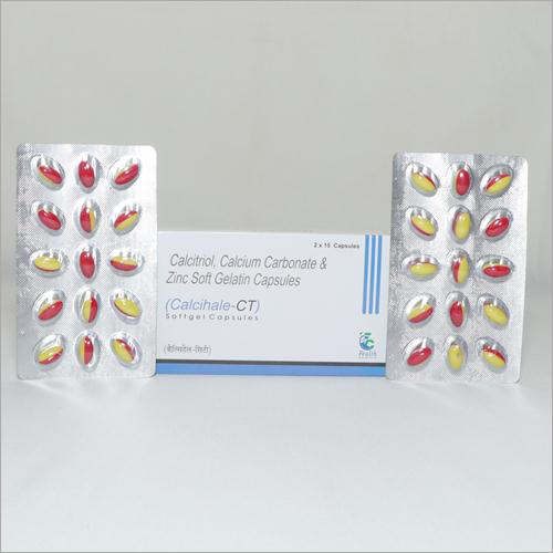 Calcitriol Calcium Carbonate And Zinc Soft Gelatin Capsules