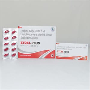 Lycopene Grape Seed Extract  Vitamin Mineral And Soft Gelatin Capsules
