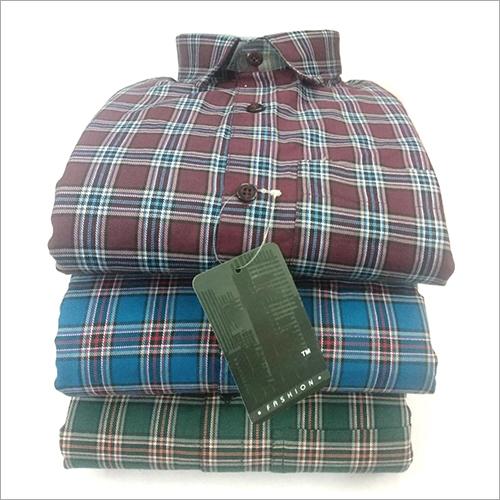 Mens Medium Check Shirt