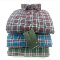 Mens Medium Check Shirt
