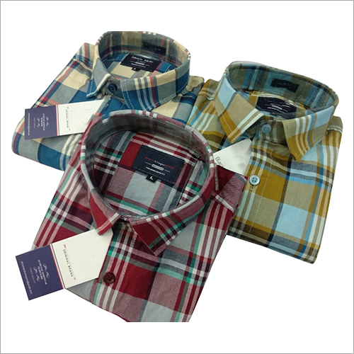 Mens Regular Check Shirt