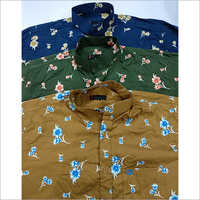 Mens PartyWear Printed Shirt