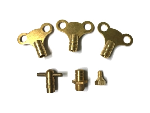 Brass Radiator Air Vent Key