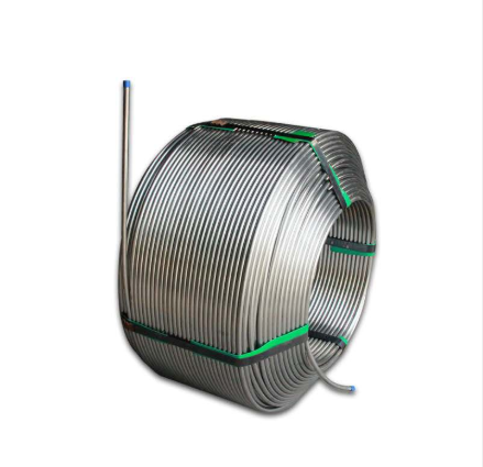 304 seamless stainless steel coiled tube