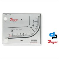 Dwyer Mark II 27 Series Mark II Molded Plastic Manometer