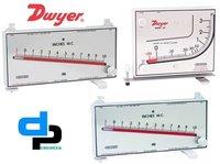 Dwyer Mark II 27 Series Mark II Molded Plastic Manometer