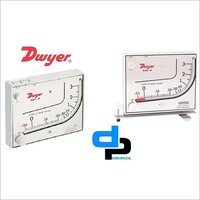 Dwyer Mark II Model 25 Manometer Range 0-3 Inches WC