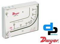 Dwyer Mark II Model 25 Manometer Range 0-3 Inches WC