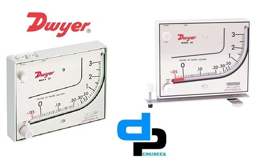 Dwyer Mark II | Moded Plastic Manometer | D.P.ENGI