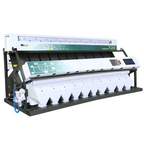 Trendz 10 chute Rice Color Sorting Machine