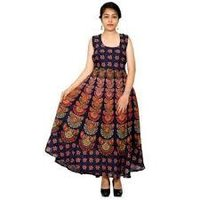 Rajasthani Cotton Maxi Dress