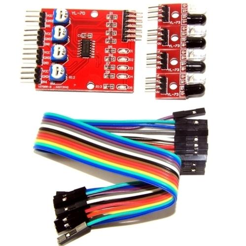 IR Sensor array 4 way