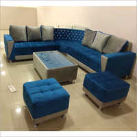 7 Seater L Shape Sofa Set