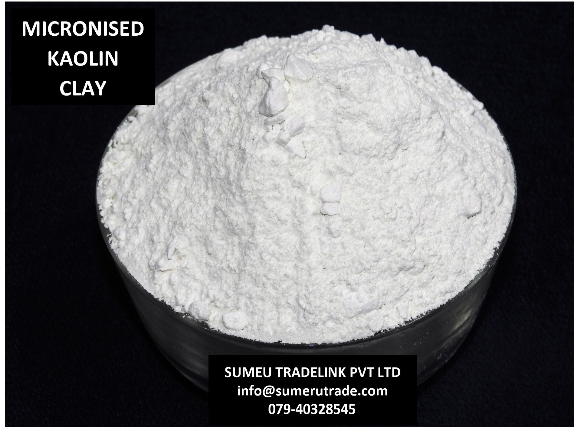 CRUDE KAOLIN CLAY
