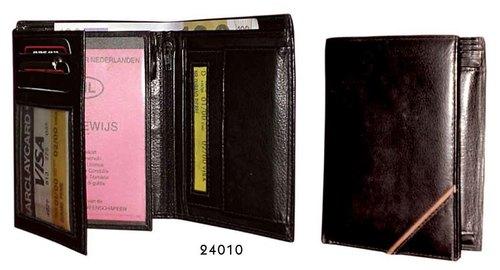 Dark Brown Leather Mens Wallet