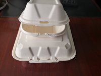 Paper food box making machine