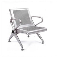 Single Seater MS Perforated Seating Chair