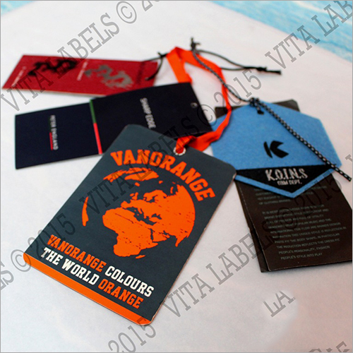 Printed Garment Tags