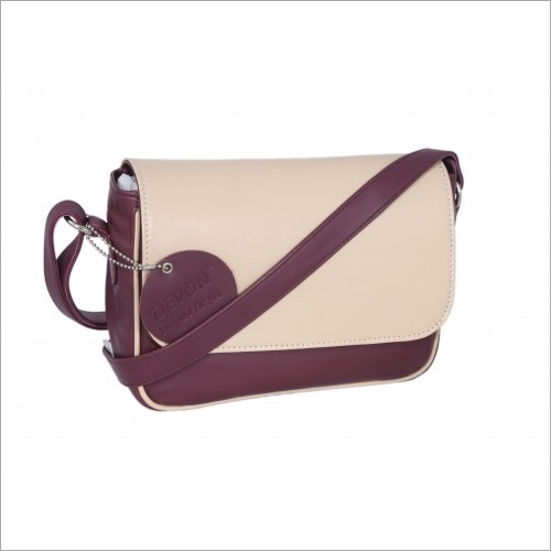Ladies Flap Closure Sling Bag