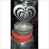 Heart Shaped Candle Stand
