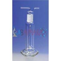 Gas Washing Bottle Dreschell (Soda Glass)