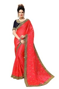 Rangoli Georgette Embroidery Saree