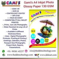 A4 130 GSM photo paper
