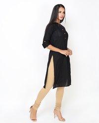 Solid Designer Kurta Patti