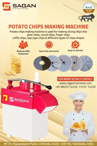 Automatic Maravalli Chips Making Machine