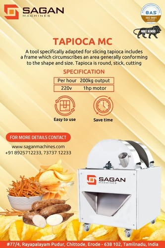 Tapioca Chips Machine
