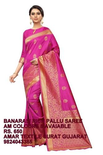 Butta Kanchivaram Silk Saree